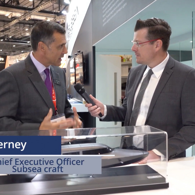 SubSea Craft interview with Naval News at DSEI